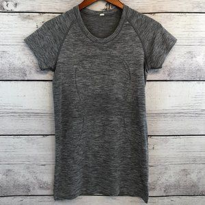 Lululemon Short Sleeve Swiftly Tech Womens 8 Gray